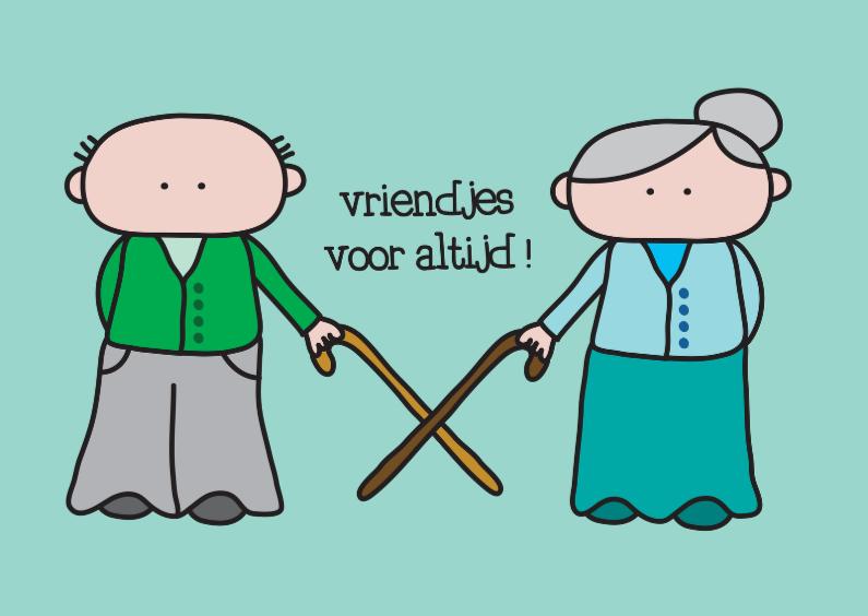 Vriendschap kaarten - Vriendschap Voor Altijd