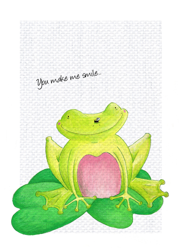 Vriendschap kaarten - Vriendschap You make me smile
