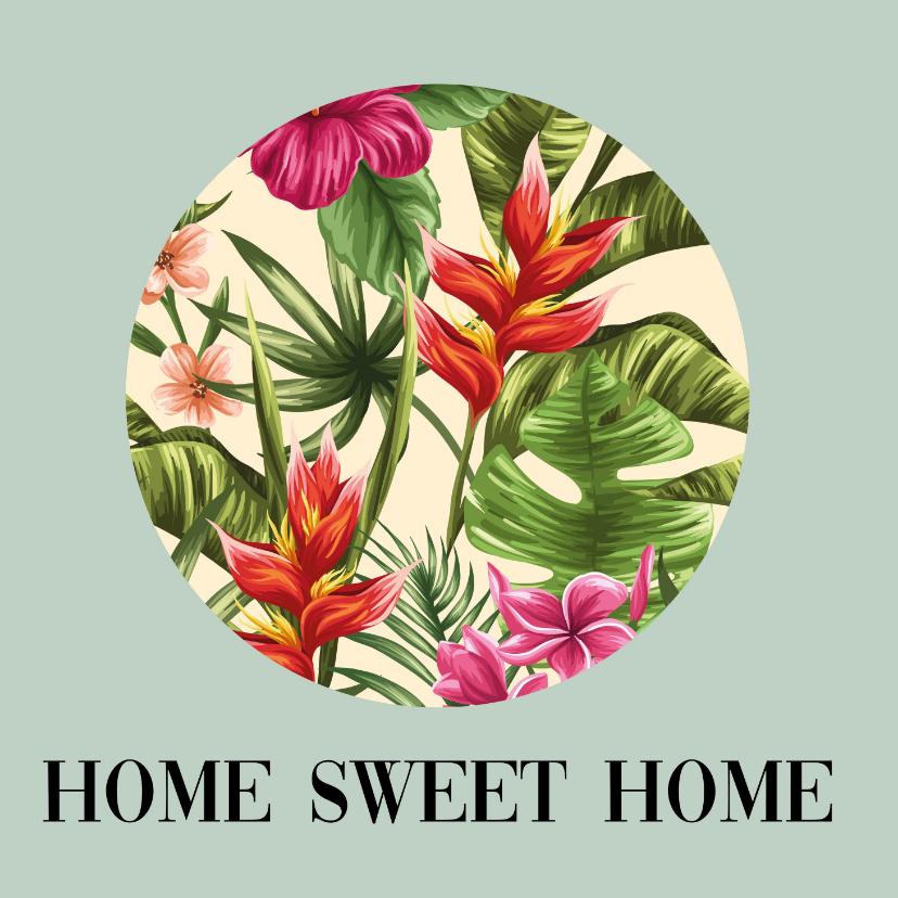 Welkom thuis kaarten - Aloha wenskaart - Home sweet home