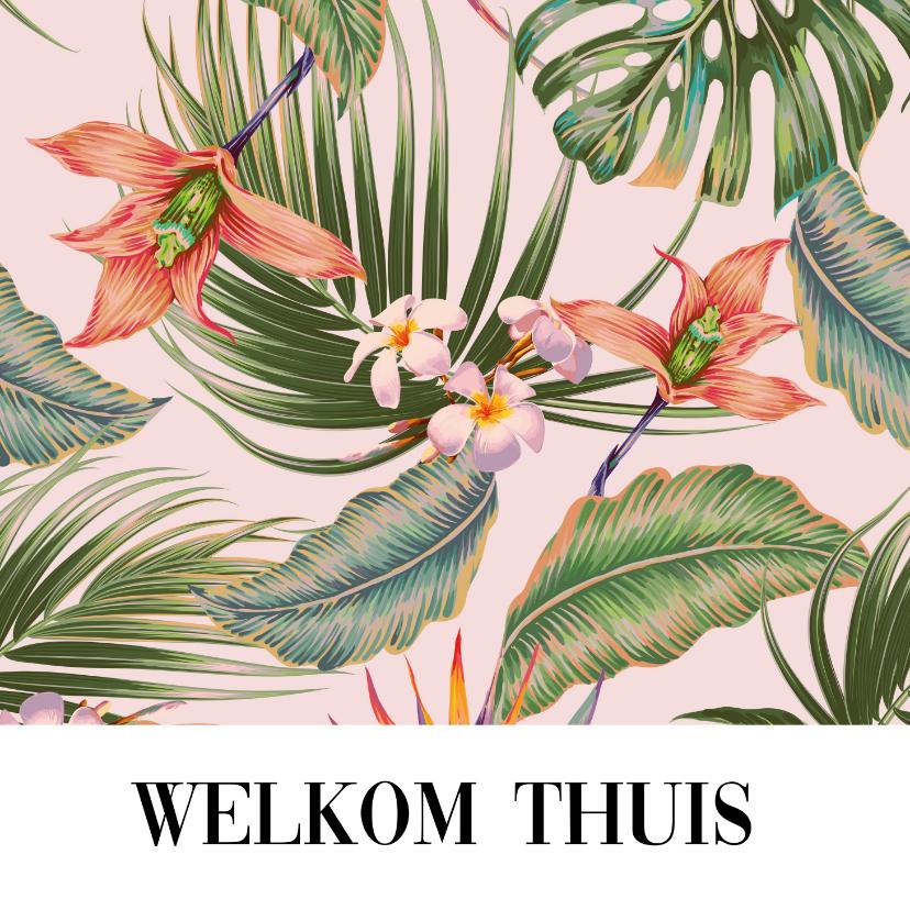 Welkom thuis kaarten - Aloha wenskaart - Welkom thuis