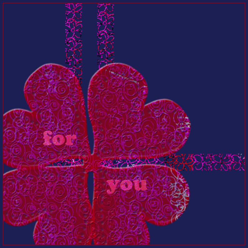 Wenskaarten divers - For you 1