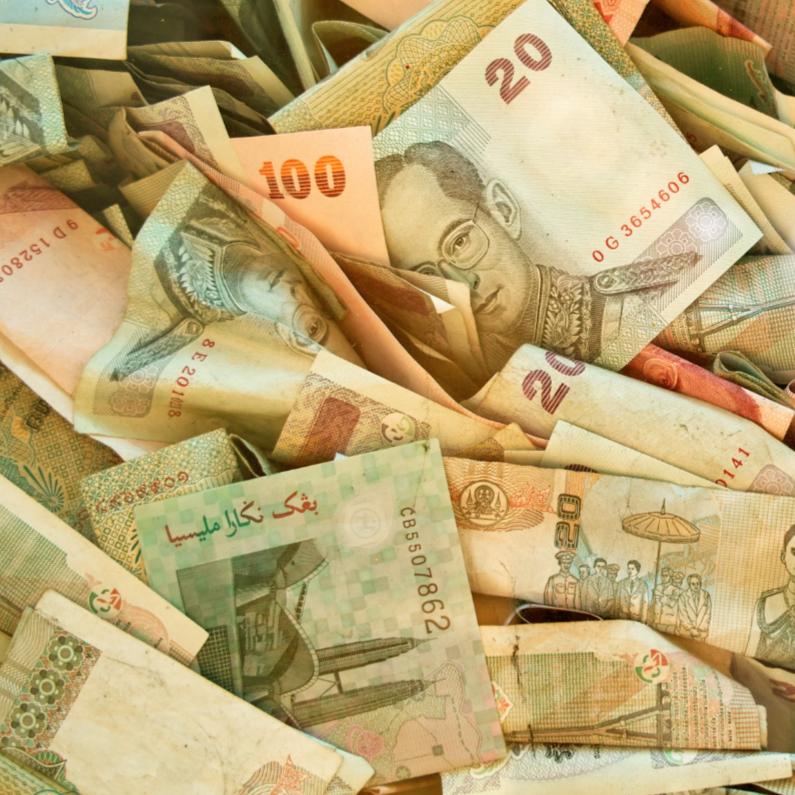 Wenskaarten divers - Geld in overvloed