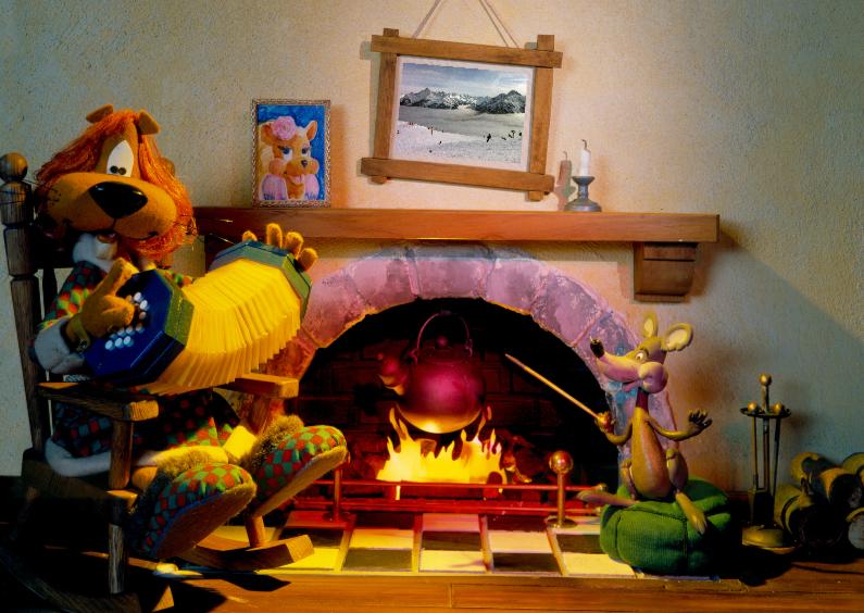 Wenskaarten divers - Loeki de Leeuw Home sweet Home