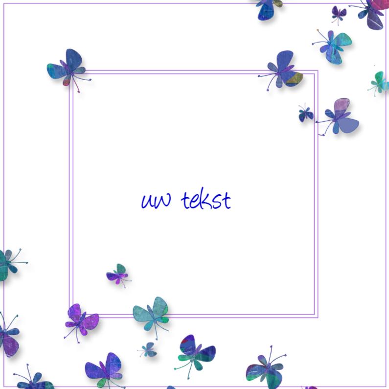 Wenskaarten divers - vlindertjes1