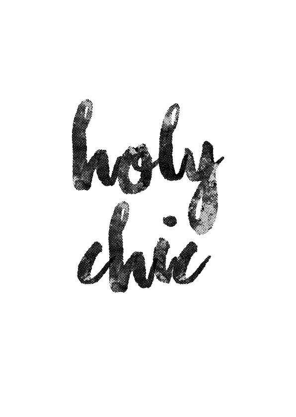 Woonkaarten - Holy Chic