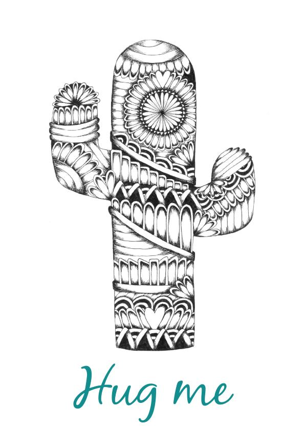 Woonkaarten - Woonkaart Cactus