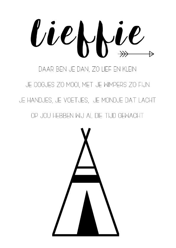 Woonkaarten - Woonkaart: Lieffie