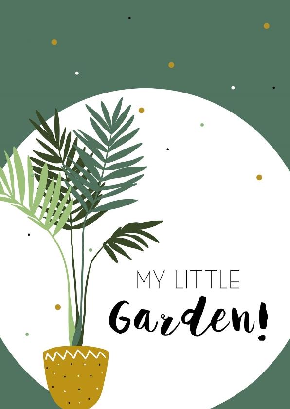 Woonkaarten - Woonkaart: My little garden