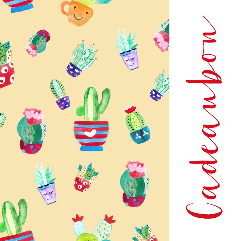 Zakelijke kaarten - Cadeaubon interieur lifestyle zakelijk zzp
