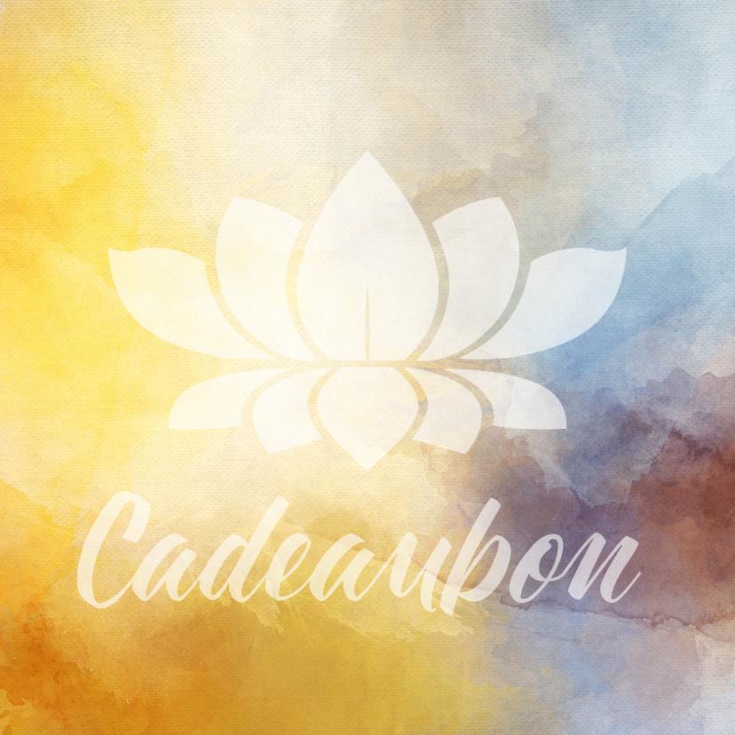 Zakelijke kaarten - Cadeaubon zakelijk zzp mindfulness wellness