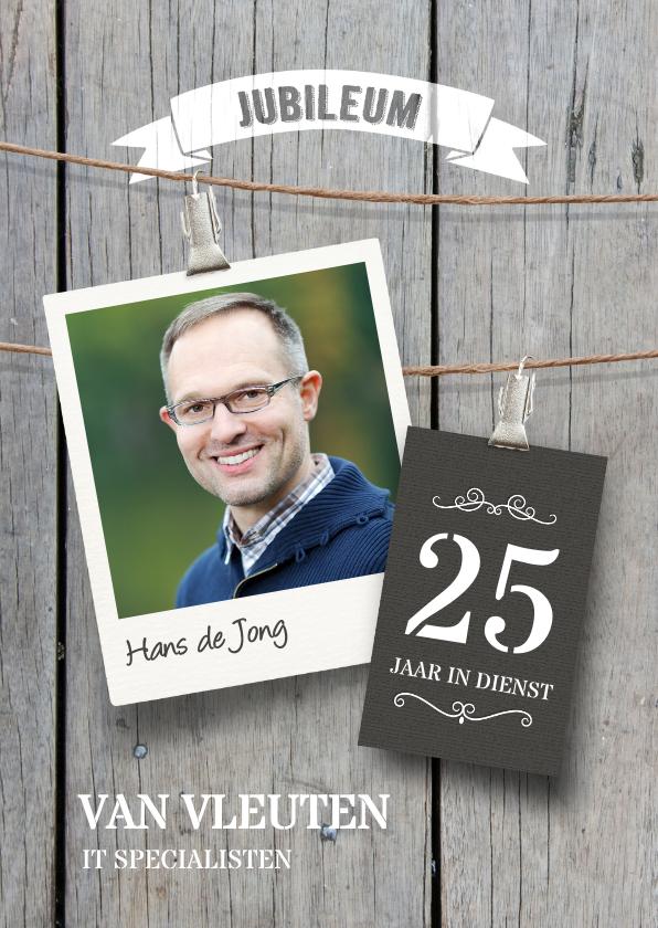 Zakelijke kaarten - Uitnodiging jubileum medewerker