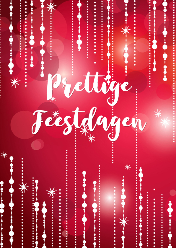 Zakelijke kerstkaarten - Feestelijke kerstkaart - isf