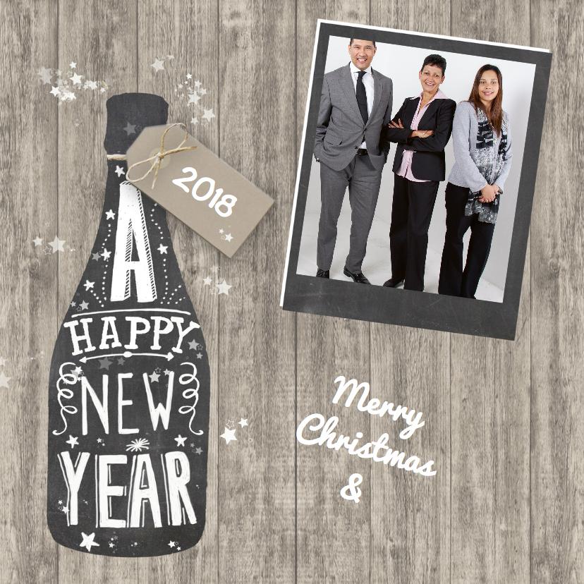 Zakelijke kerstkaarten - Happy New Year 2018