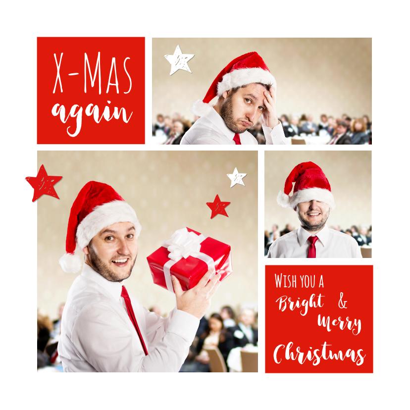 Zakelijke kerstkaarten - Kerst Collage zakelijk