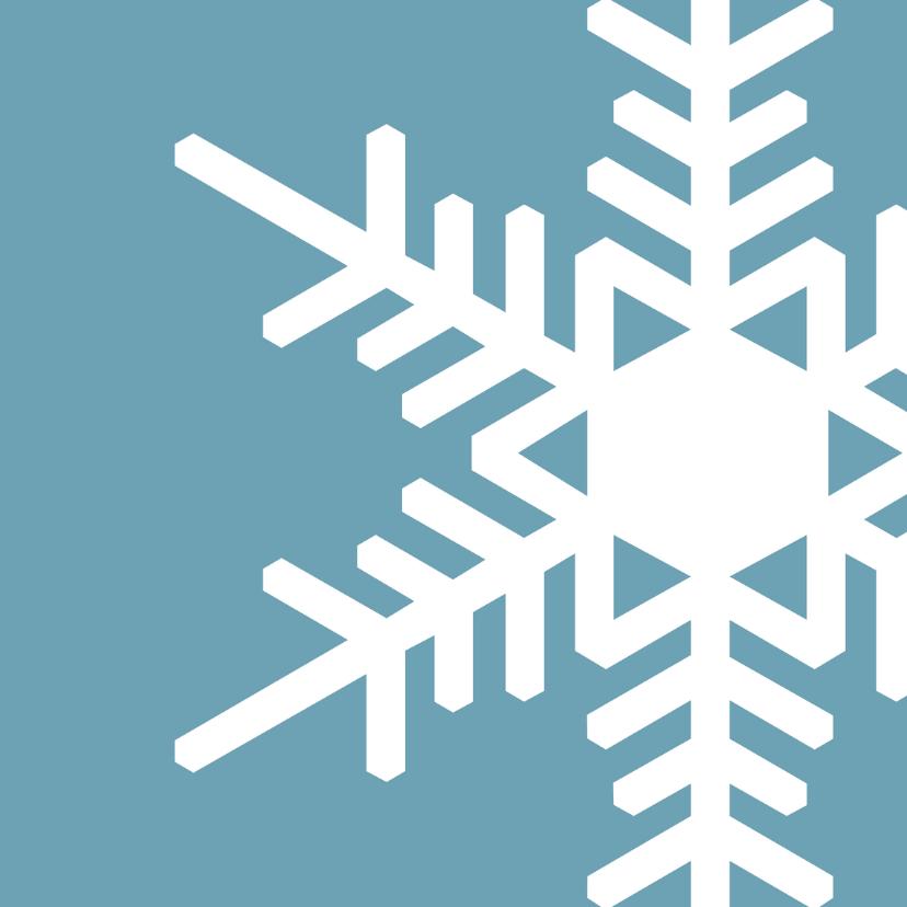 Zakelijke kerstkaarten - Kerst strak ijs - OT