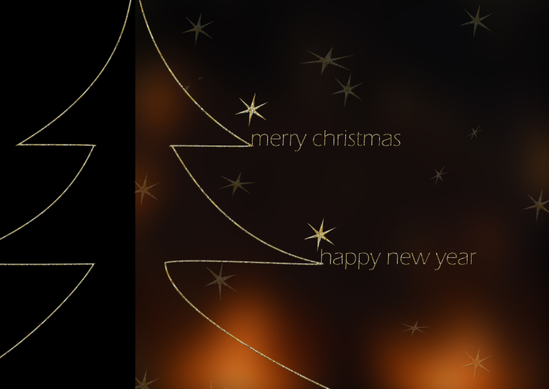Zakelijke kerstkaarten - Warm zakelijk