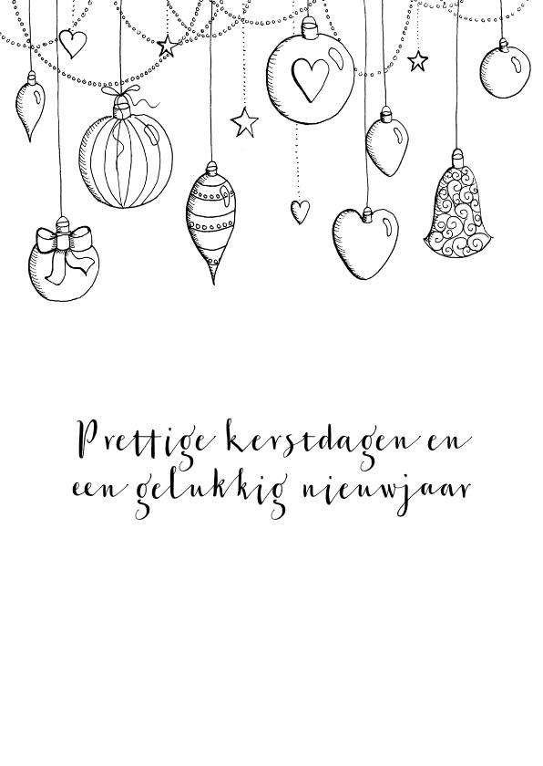 Zakelijke kerstkaarten - Zakelijke kerstkaart illustratie