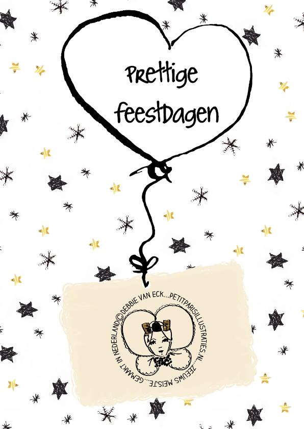 Zakelijke kerstkaarten - Zakelijke kerstkaart logo ballon