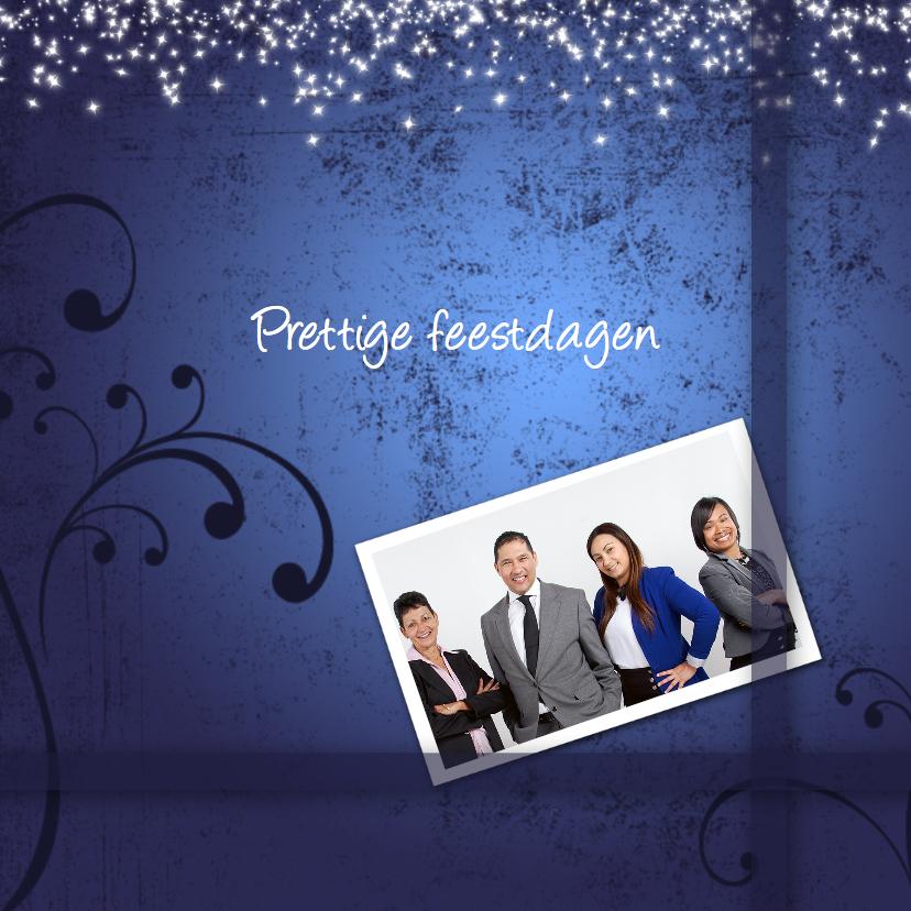 Zakelijke kerstkaarten - Zakelijke kerstkaart met foto-IP