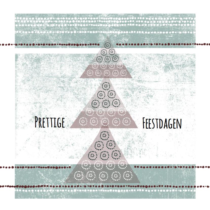 Zakelijke kerstkaarten - Zakelijke Kerstkaart patroon grunge-IP