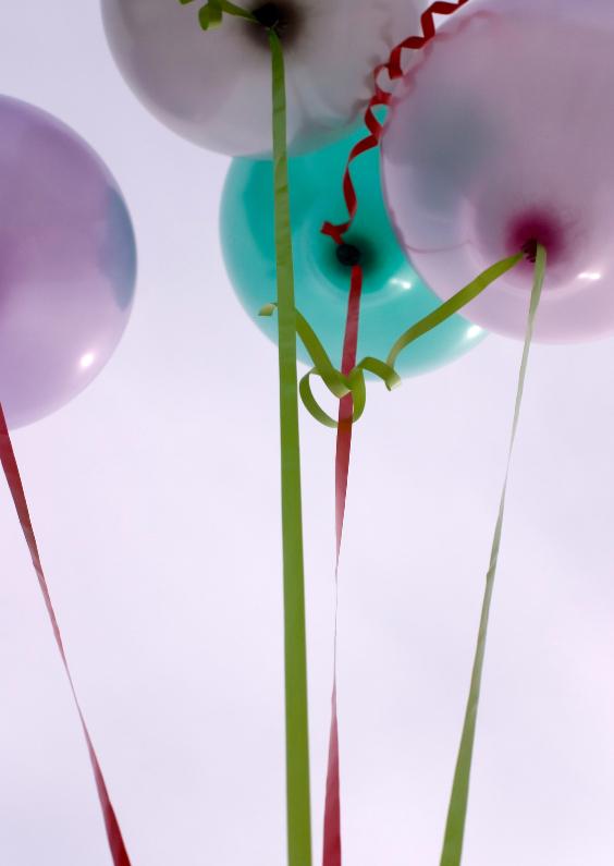 Zomaar kaarten - Ballonnen in de lucht
