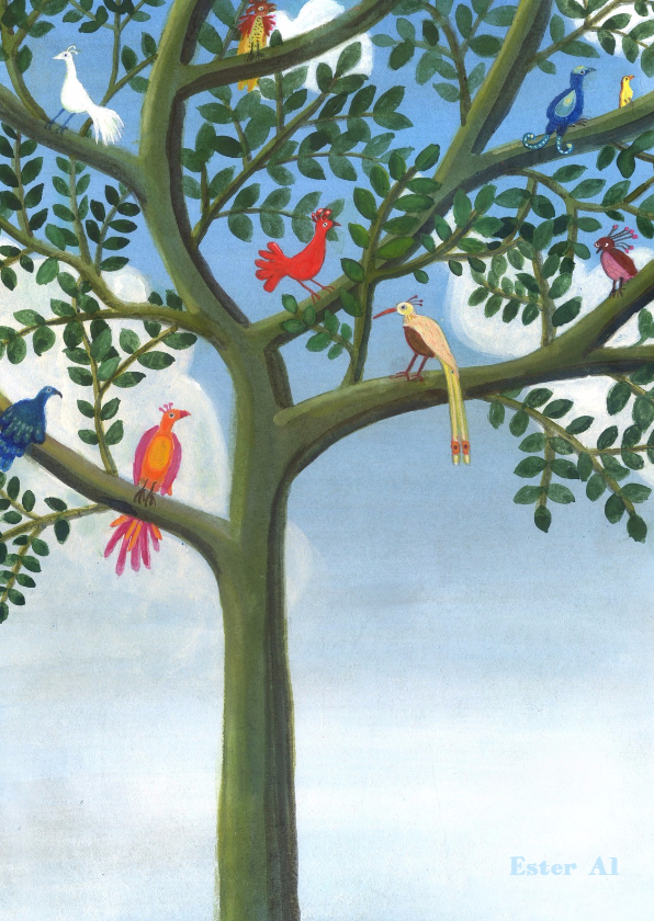 Zomaar kaarten - Birds of Paradise