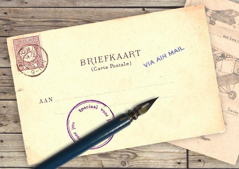Briefkaart - Speciaal voor jou 1