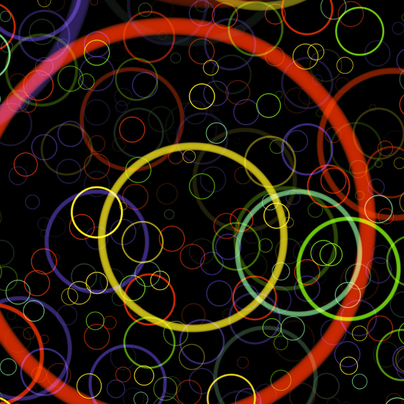 Zomaar kaarten - Cirkels I