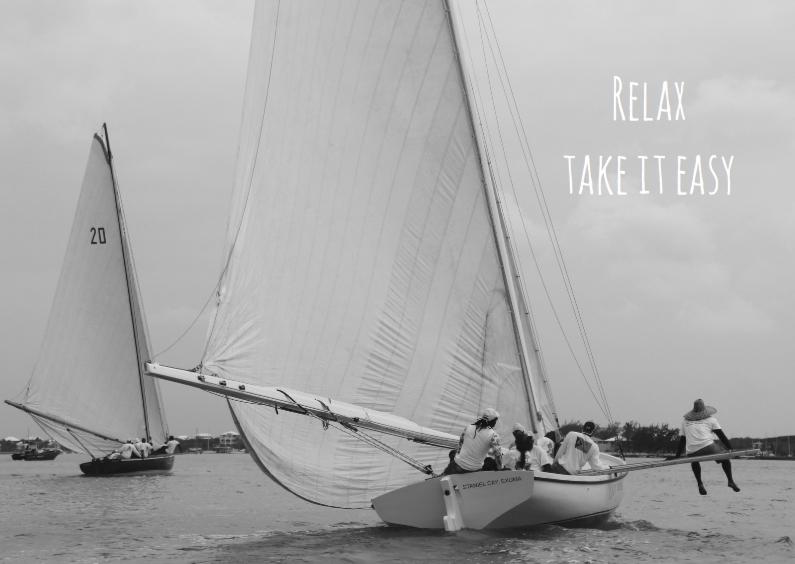 Zomaar kaarten - Coachingskaart Take it easy