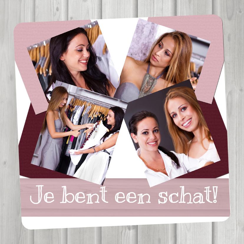 Zomaar kaarten - Collage Vriendschap - BK