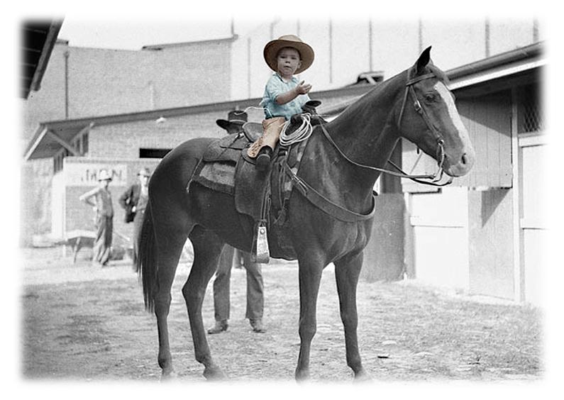 Zomaar kaarten - Cowboy fotokaart