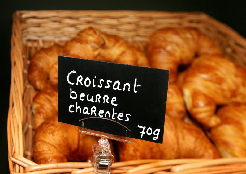 Zomaar kaarten - Croissantjes
