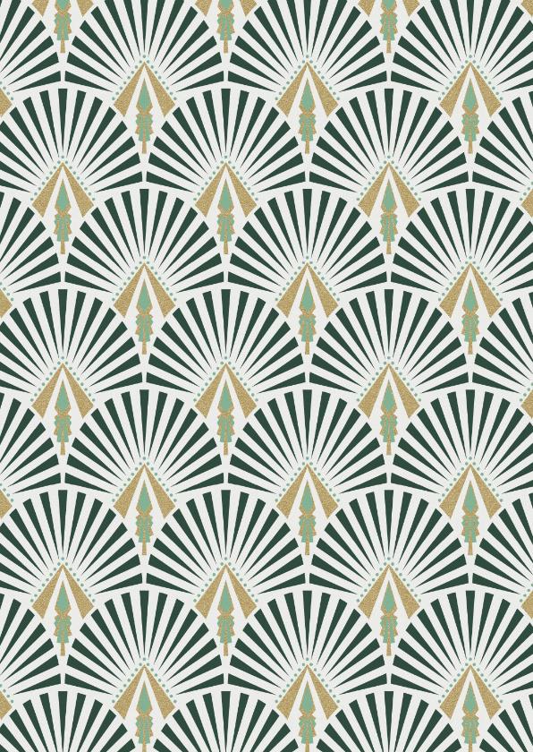 Zomaar kaarten - Een leuke kaart met hip patroon voor ieder moment