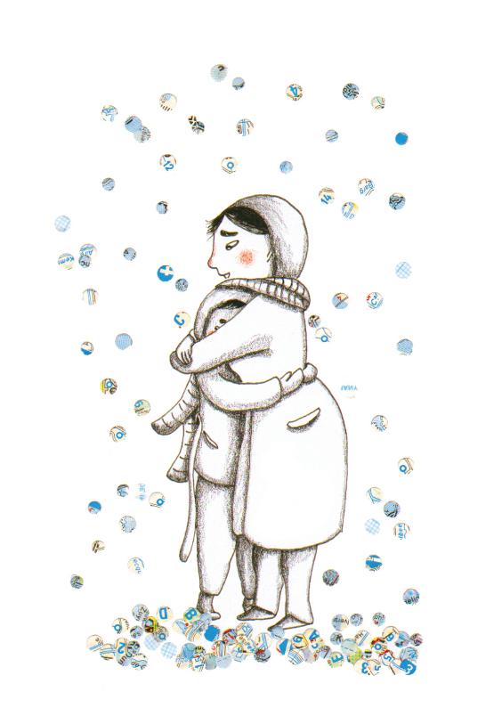 Zomaar kaarten - Een winterse groet