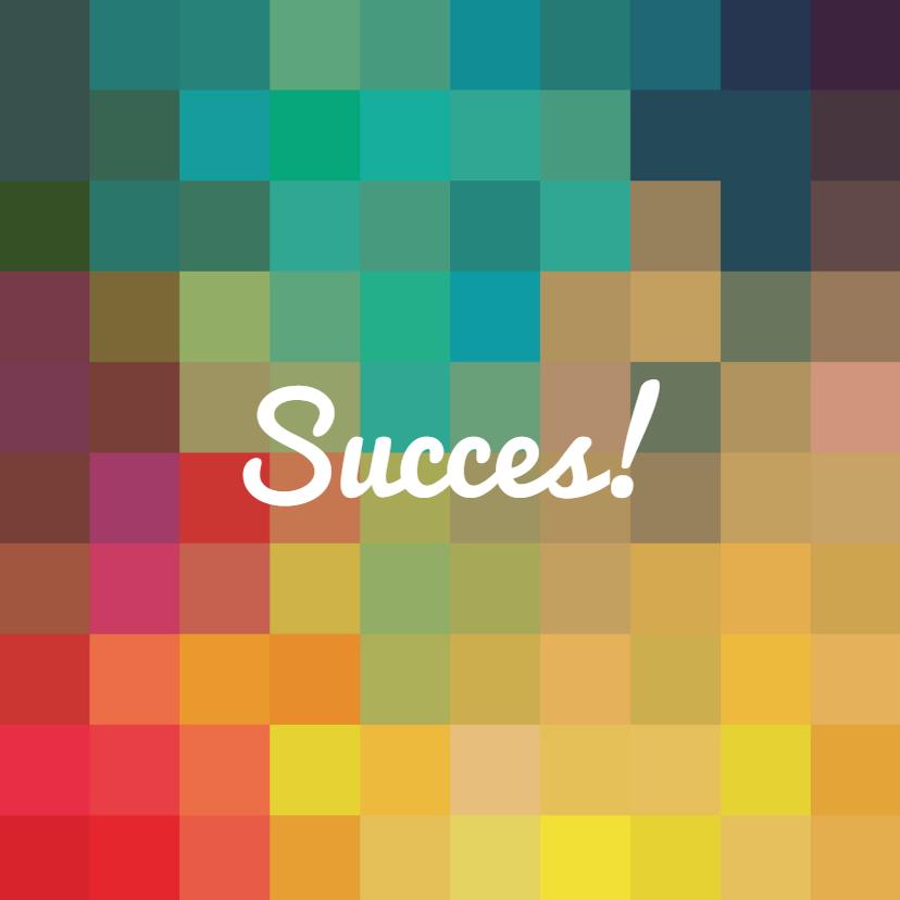 Zomaar kaarten - Eigen (succes)tekst op kleuren