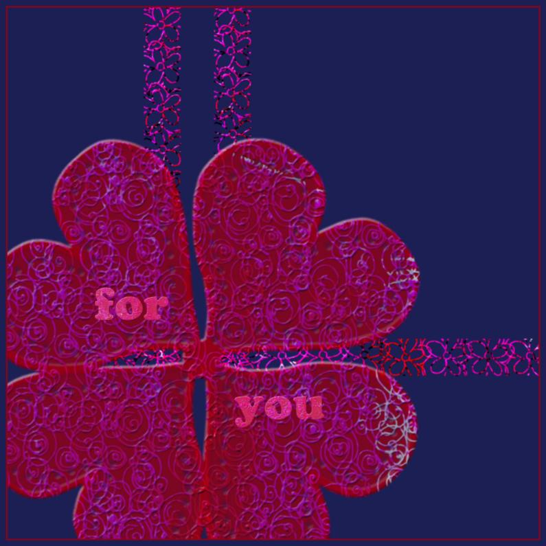 Zomaar kaarten - For you 1