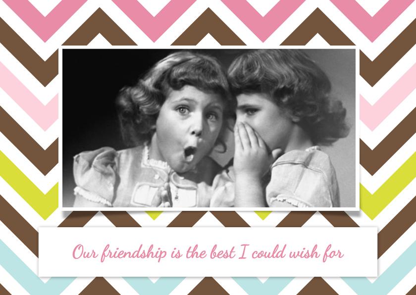 Vriendschap kaarten - Forever Always - DH