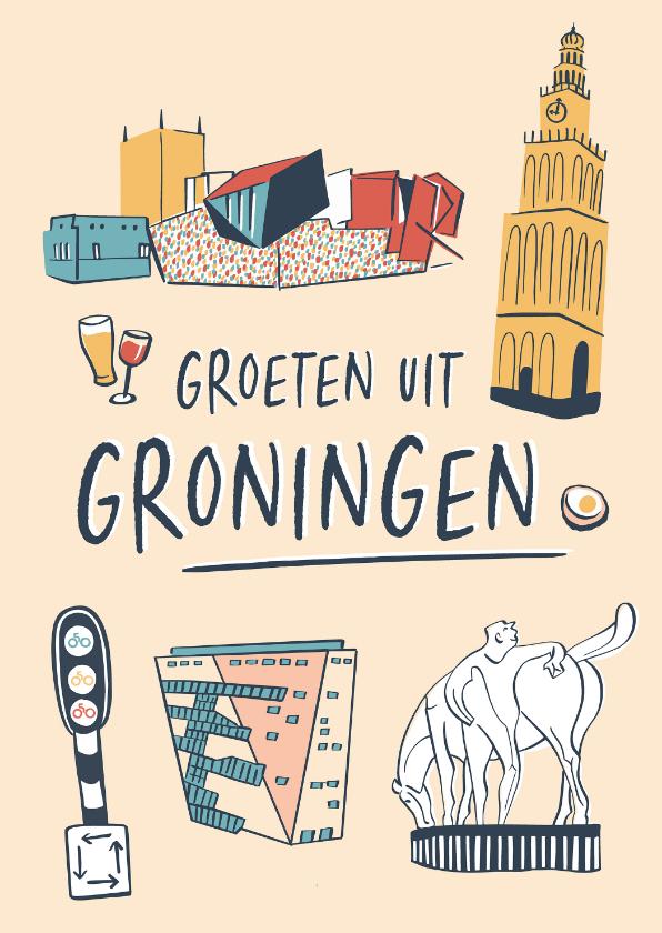 Zomaar kaarten - Groeten uit Groningen