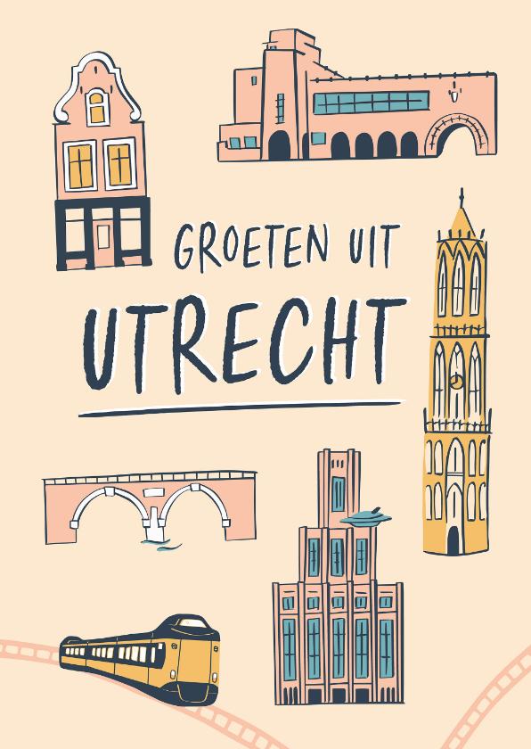Zomaar kaarten - Groeten uit Utrecht gebouwen