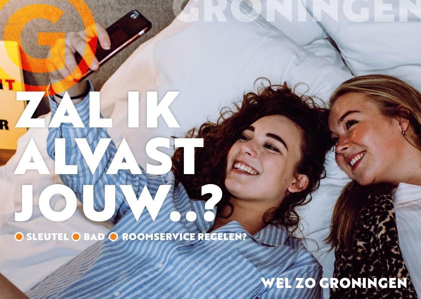 Zomaar kaarten - Groningen: blijf lekker slapen