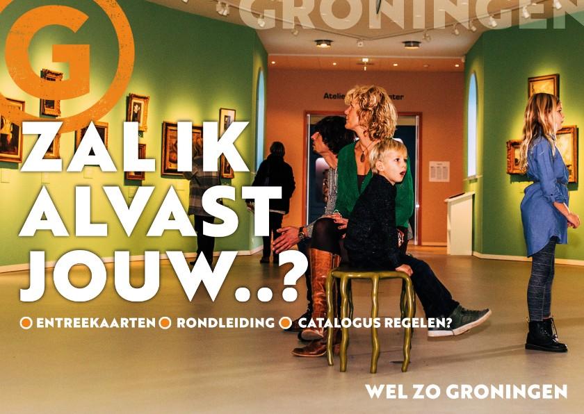 Zomaar kaarten - Groningen: kom cultuur snuiven