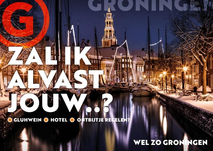 Zomaar kaarten - Groningen: wintercity