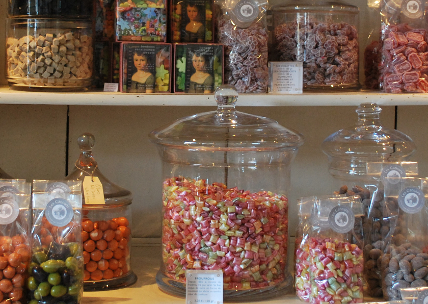 Zomaar kaarten - Heerlijke snoepwinkel