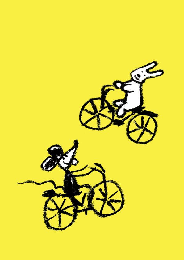 Zomaar kaarten - Joep & Hop & lekker fietsen