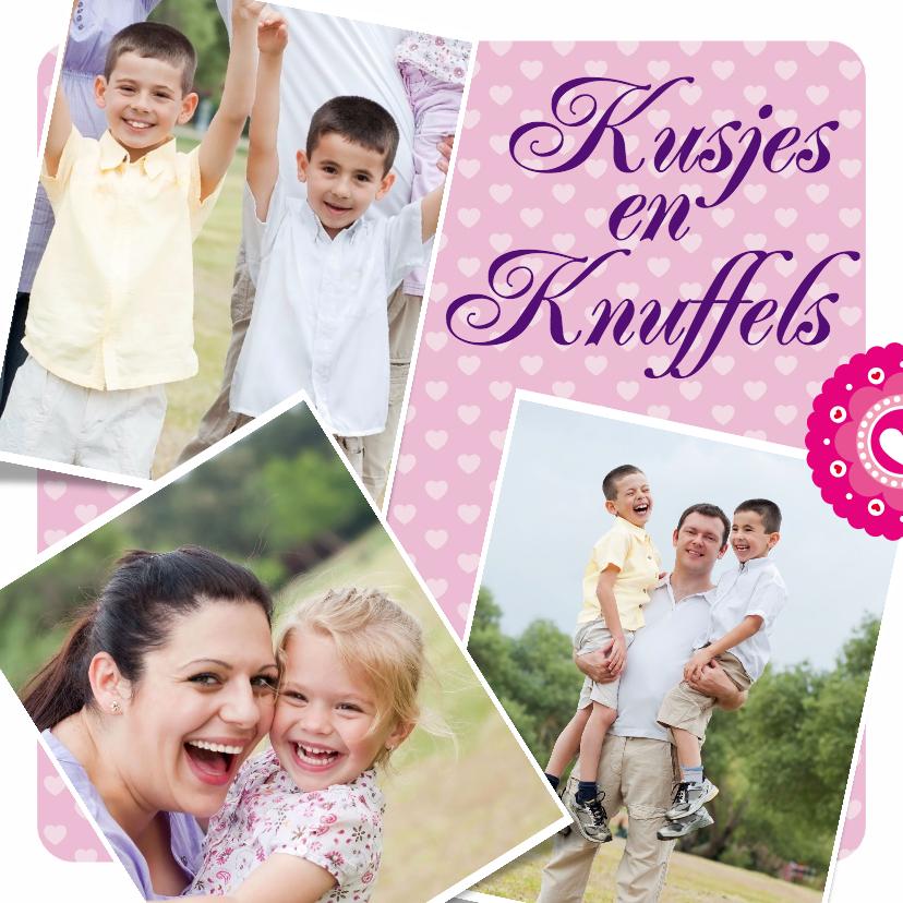 Zomaar kaarten - Kusjes en Knuffels - BK