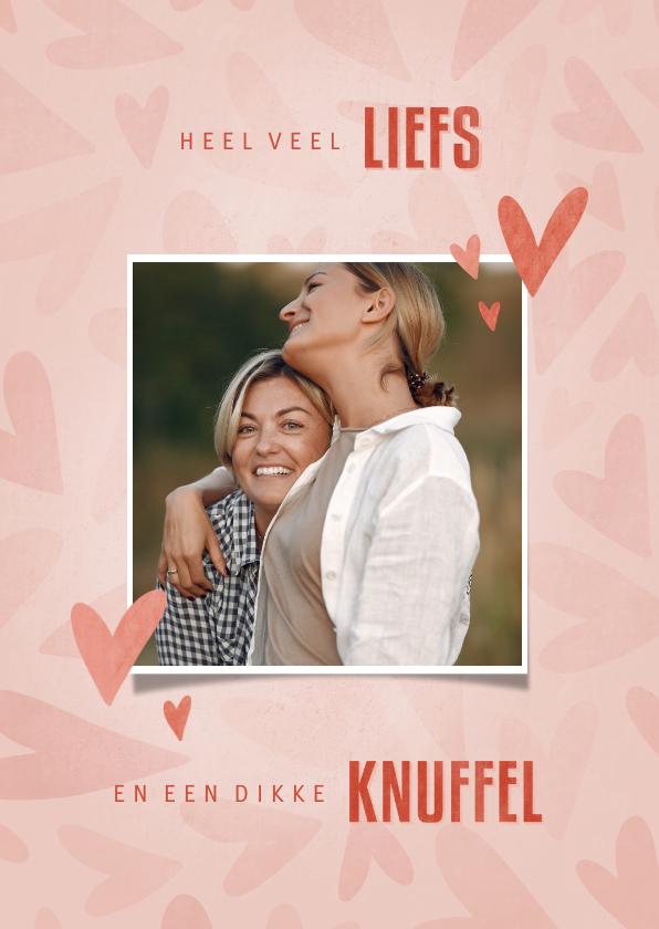 Zomaar kaarten - Make-A-Wish kaartje veel liefs en een dikke knuffel