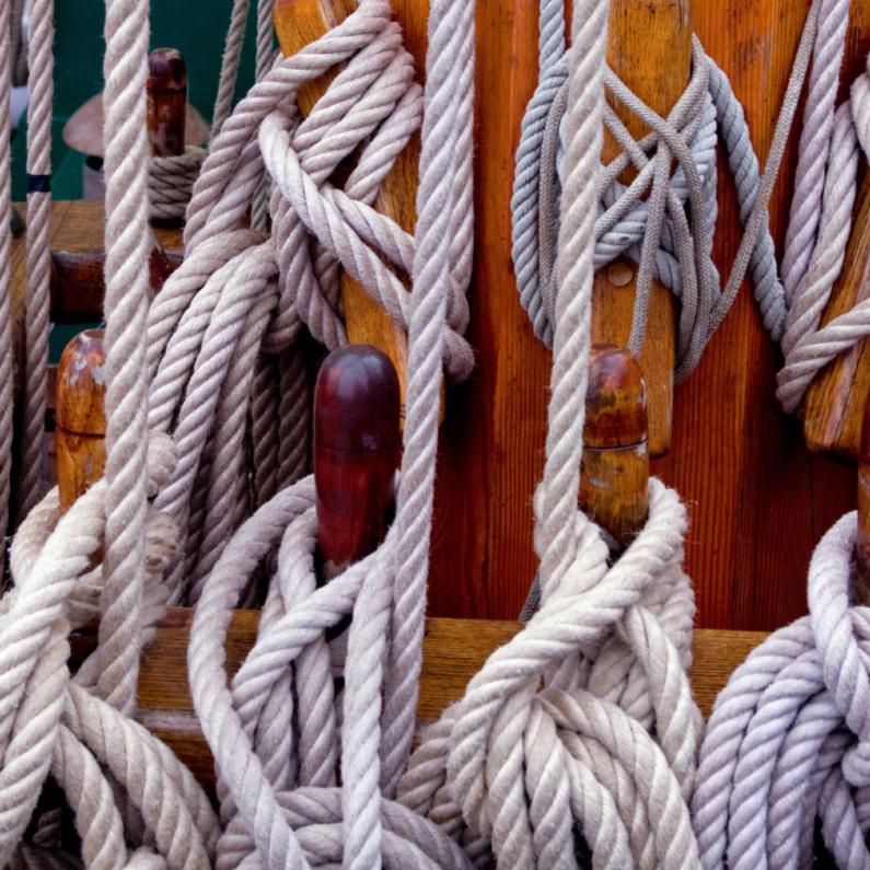 Zomaar kaarten - Nautisch touwwerk
