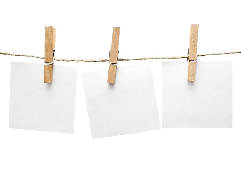Zomaar kaarten - Notities waslijn