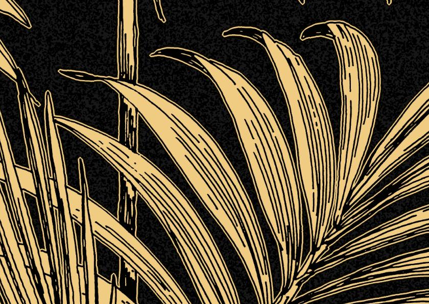 Zomaar kaarten - Om zomaar te versturen met tropisch palmblad