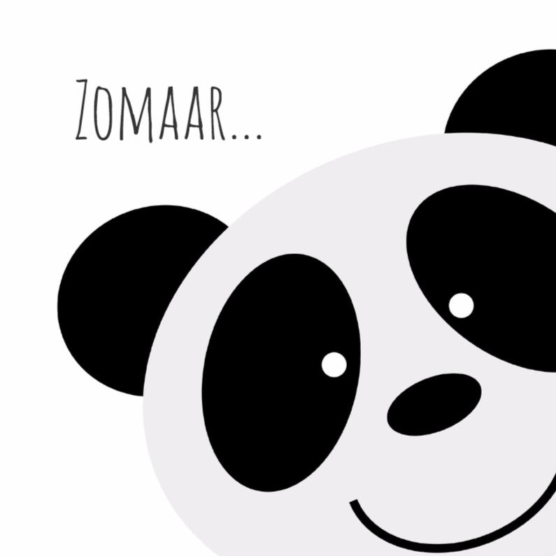 Zomaar kaarten - Panda love - DH